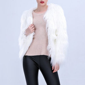 LED Fur Coat