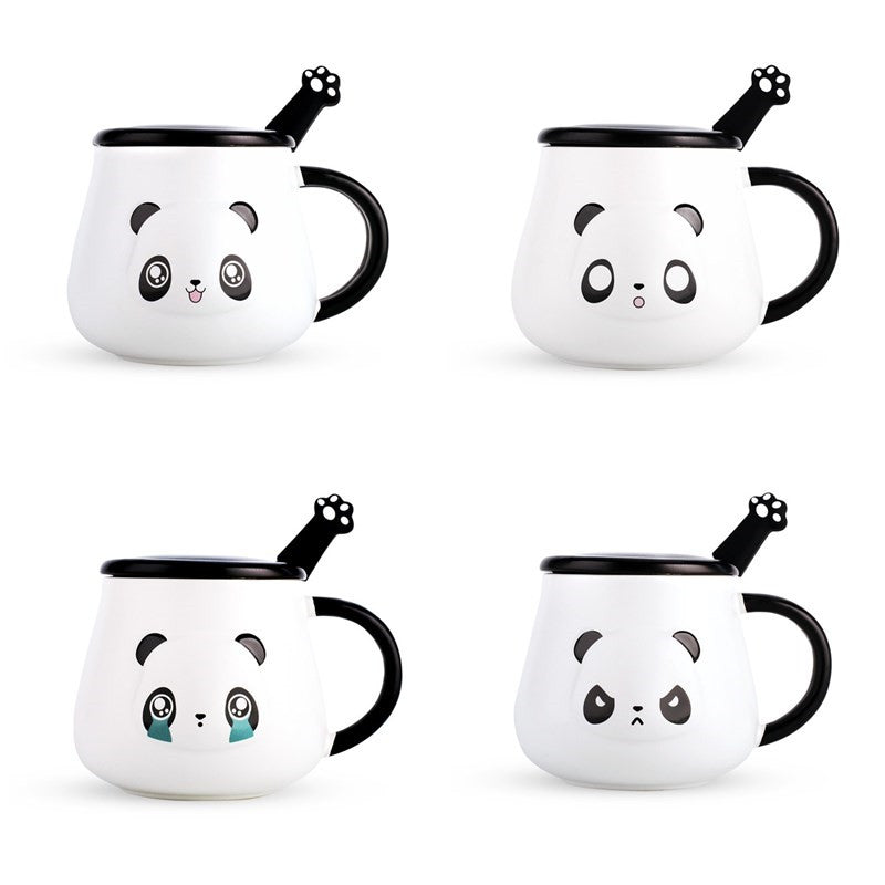 Cute Panda Coffee Mug (Complete Set 70% OFF)