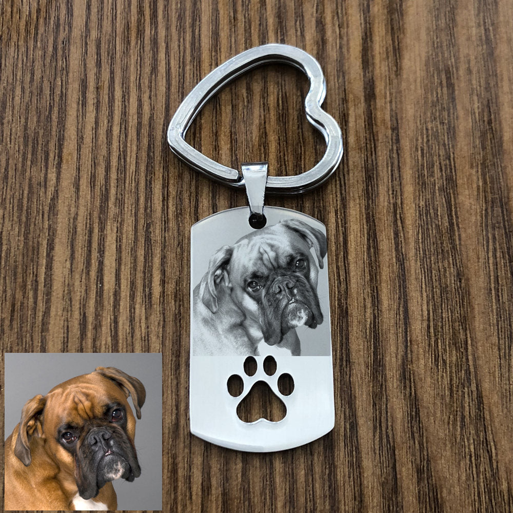 DIY Dog Key Chain