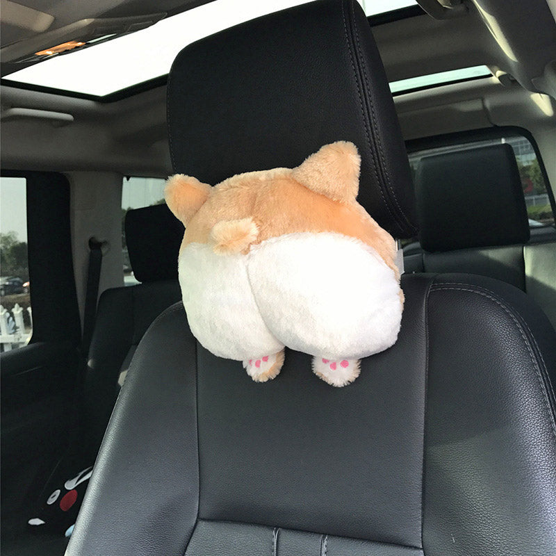 Corgi Butt Headrest