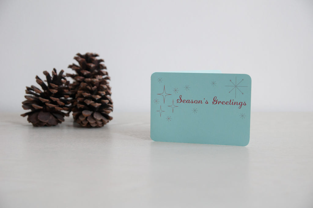'Season's Greetings' Holiday Cards