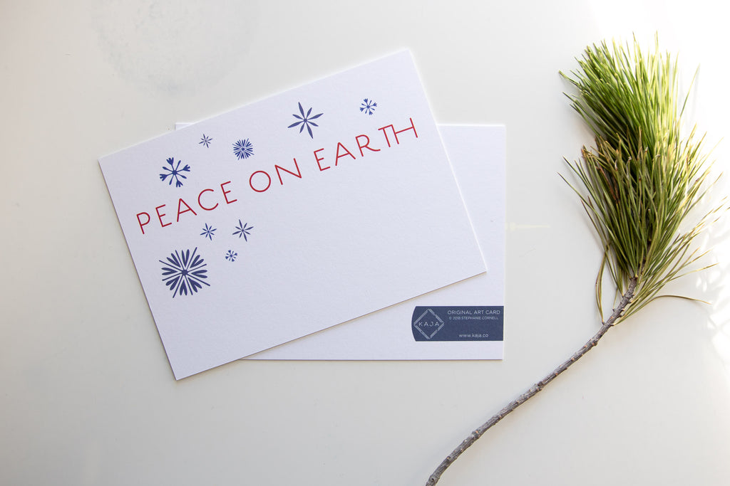 Peace on Earth Art Card