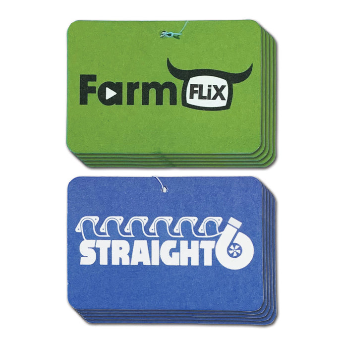 FarmFLiX & Straight6 Air Fresheners - 10 Pack