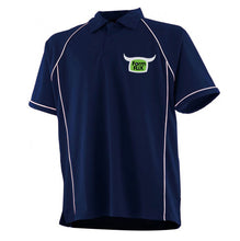 Load image into Gallery viewer, Embroidered Navy FarmFLiX Polo Shirt (Adult)
