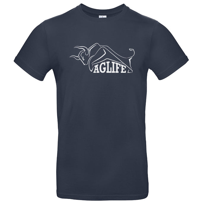 Printed Navy AgLife T-Shirt (Adult)