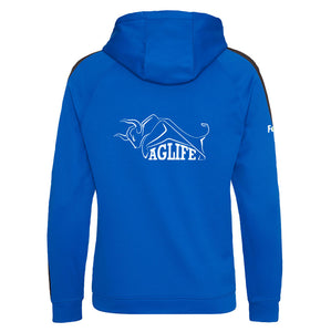 Embroidered Royal Blue AgLife Zoodie (Adult)