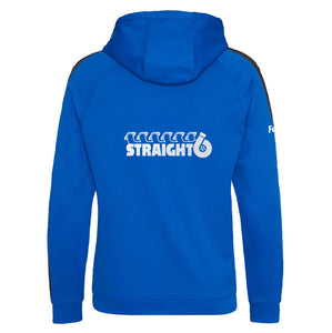 Embroidered Royal Blue Straight6 Zoodie (Adult)
