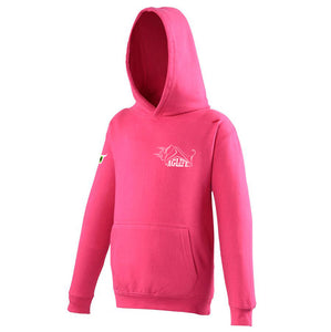 Embroidered Hot Pink AgLife Hoody (Kids)