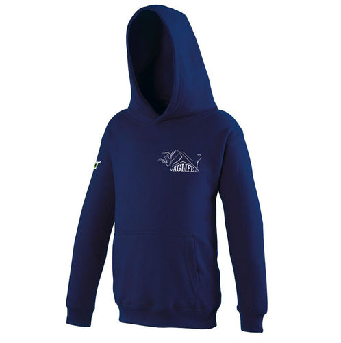 Embroidered Navy AgLife Hoody (Kids)