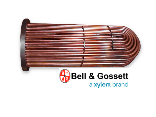SU-67-2 Bell & Gossett Steam Tube Bundle Replacement