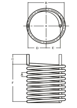 Helical Coil 3/8
