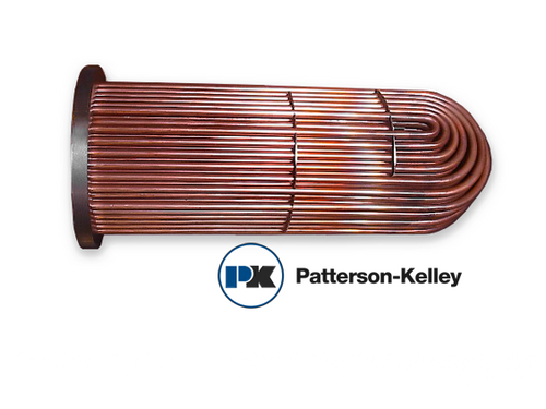 HB-1815-1436 Patterson-Kelley Steam Tube Bundle Replacement