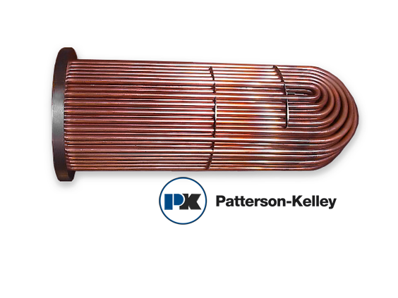 PK12D Patterson-Kelley Steam Double Wall Tube Bundle Replacement