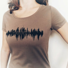 Load image into Gallery viewer, SOUND Clothing-ladies-organic-cotton-fairtrade-t-shirt-audio-music-producer-streetwear