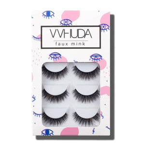 Pack of 5 VVHUDA Super Soft False Lashes - Scarlett