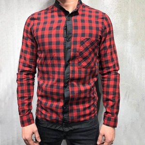 Red and Black Chequard Shirt