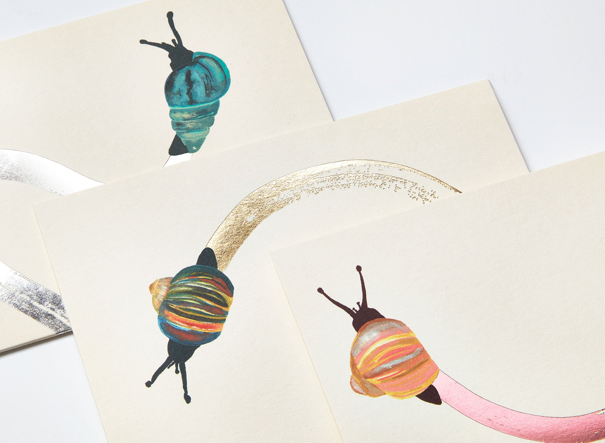 Jo Laing - Snail Mail Notelet Cards - luxury stationery and notecards made in England