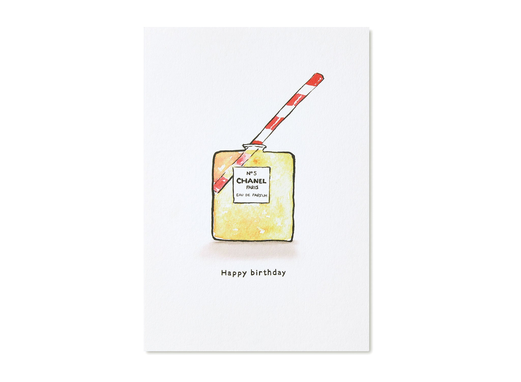 Jo Laing - Happy Birthday Greeting Card - luxury stationery made in England