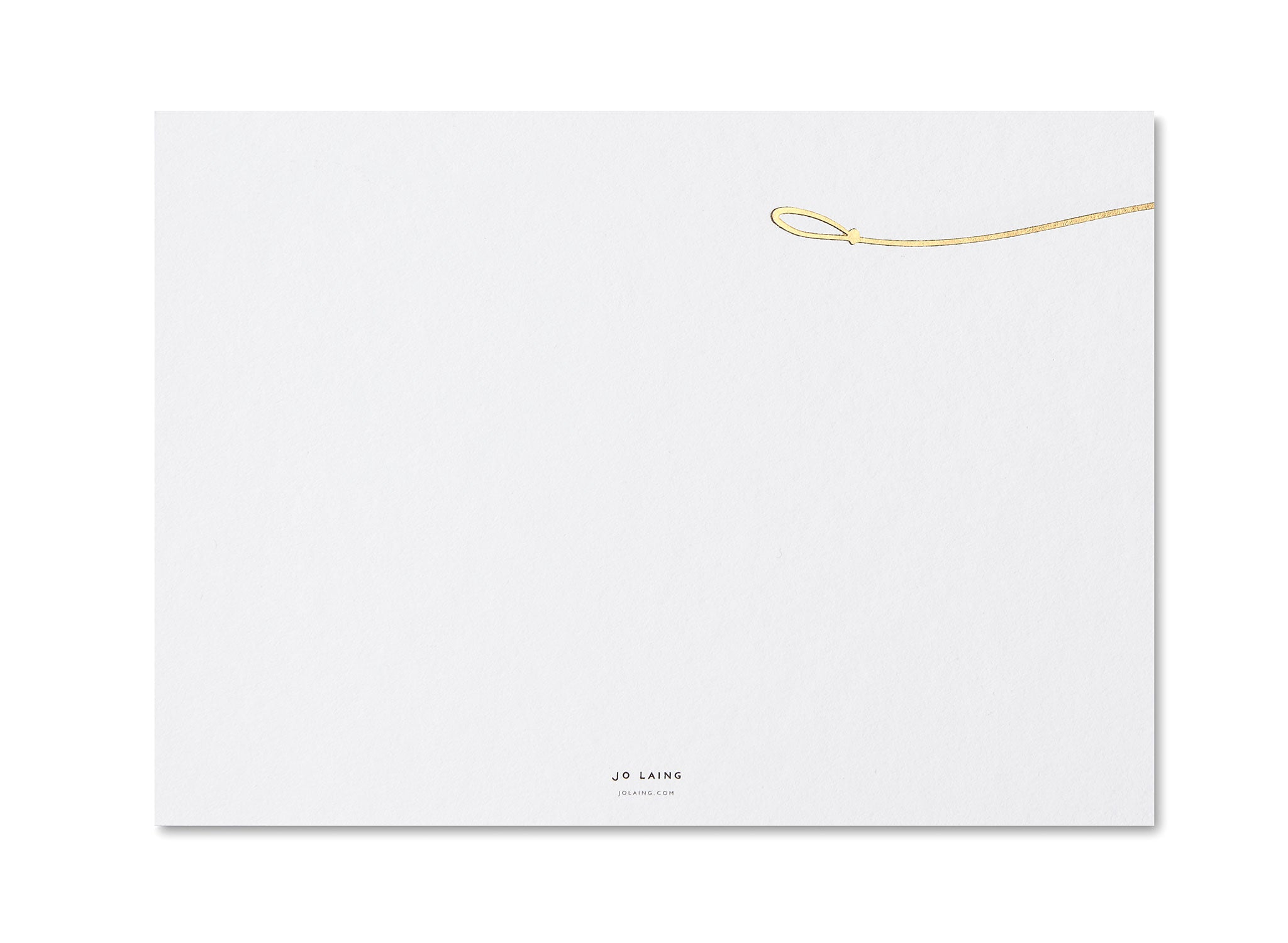Jo Laing - Hello Sausage Correspondence Cards - luxury stationery and notecards made in England