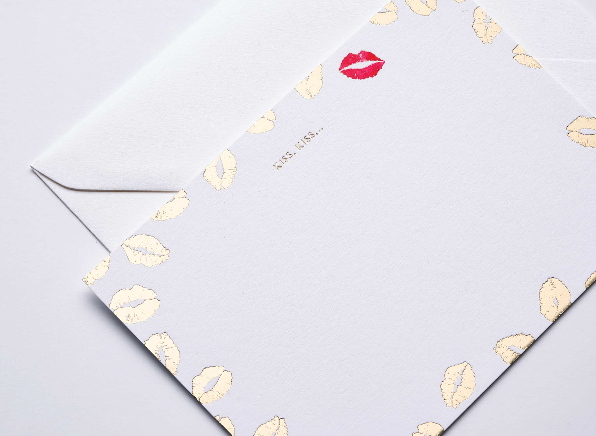 Kiss, Kiss Luxury Correspondence Cards