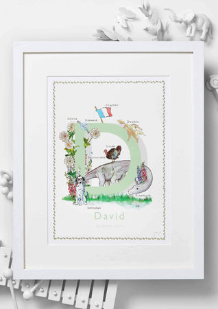 Jo Laing - Giclée Fine Art Print - French Nursery Art and Illustration