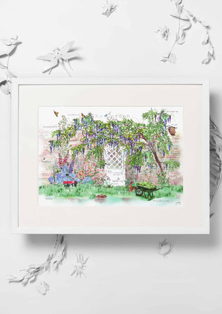 Jo Laing - Giclée Fine Art Print - The Field Garden Art Print
