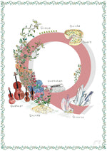 'Q is For' Nursery Art Print - French Collection