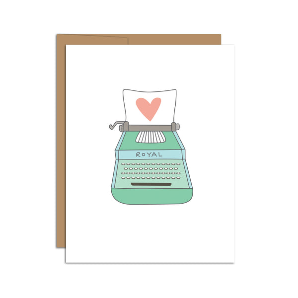 Typewriter Love Letter