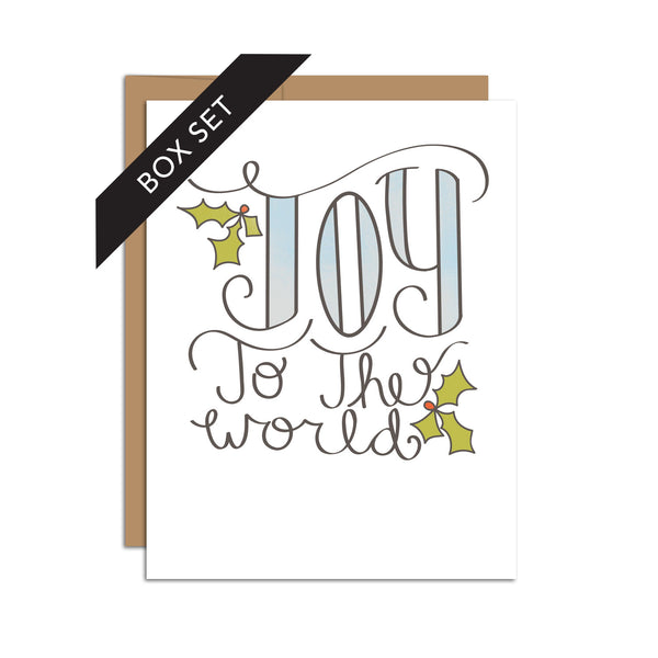 Box Set of 8 - Joy to the World