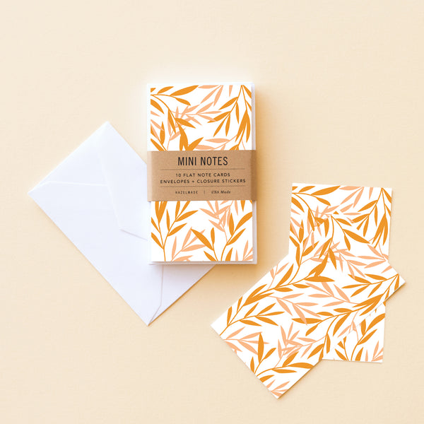 Sunset Reeds Little Note Set