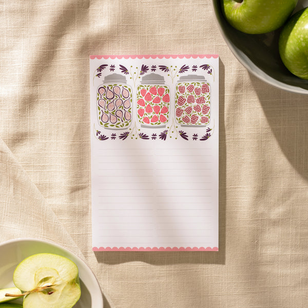 Jam Jars Large Notepad