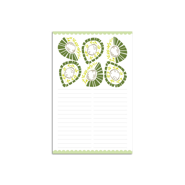 Avocados Large Notepad