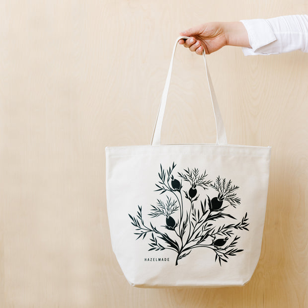 Thistle Fields Large Tote 1