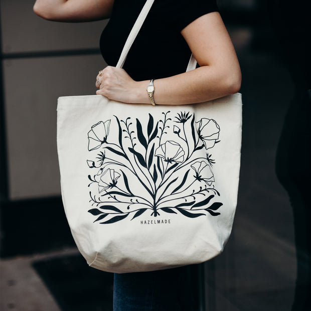 Wildflower Bouquet Large Tote 1