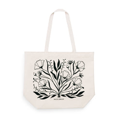 Wildflower Bouquet Large Tote