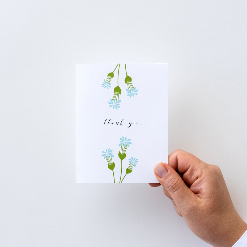 Thank You (Blue Florals) (R)