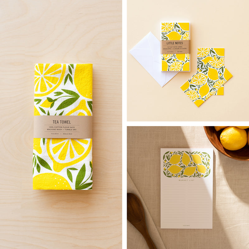 The Lemon Collection Gift Set