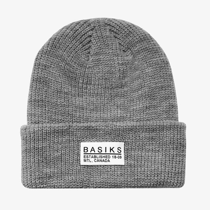 Urban Beanie light grey basiks
