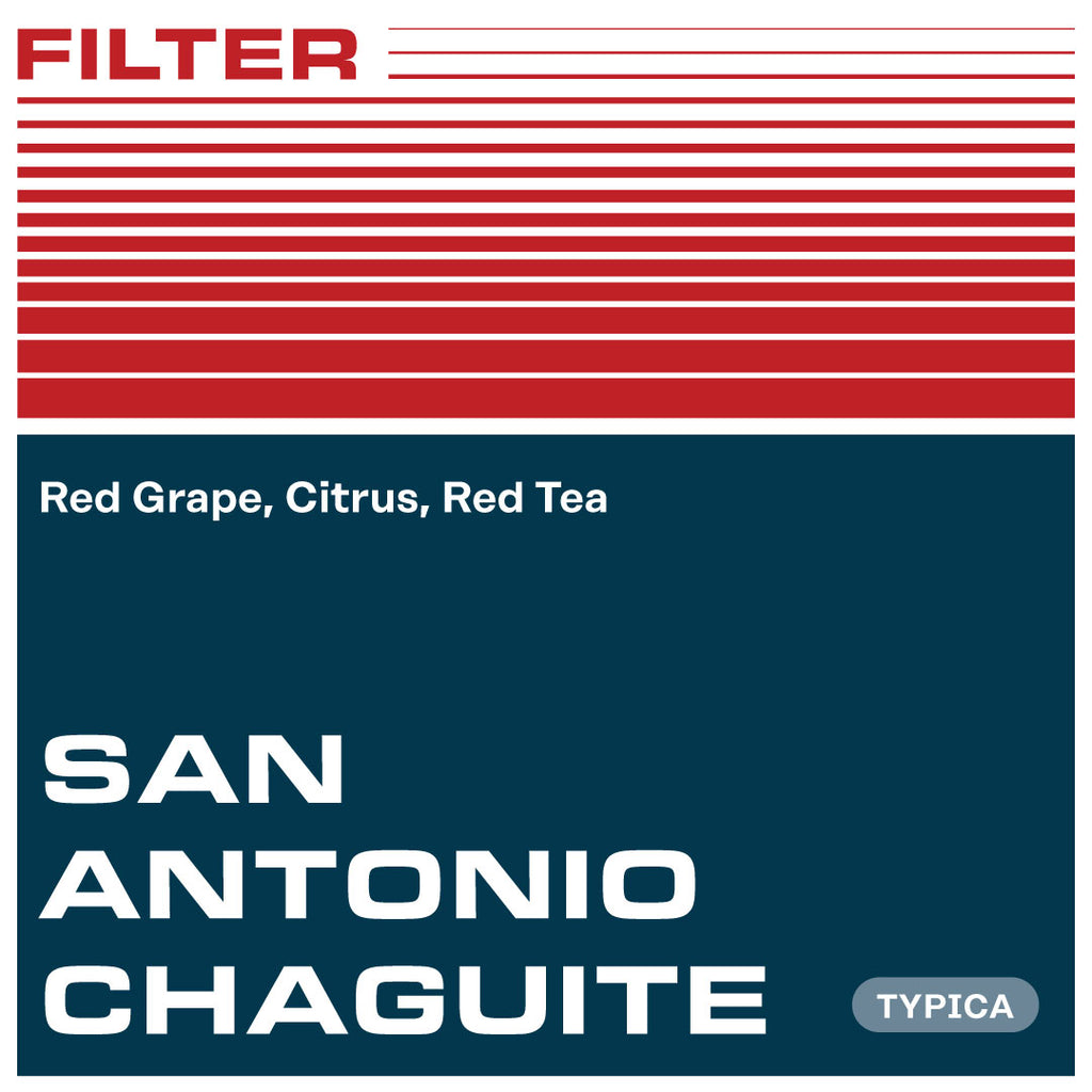 San Antonio Chaguite, Typica - Washed