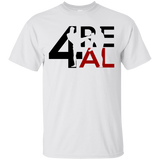 4REAL CLASSIC White T-SHIRT - 4REAL