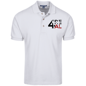EXCLUSIVE White 4REAl polo Shirt