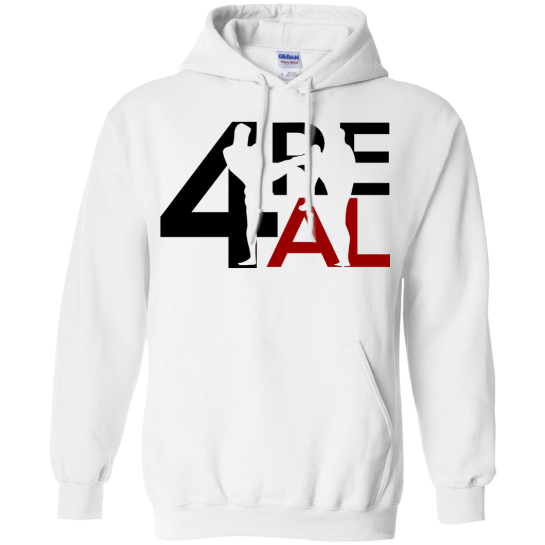 4REAL Classic White Sweatshirt - 4REAL