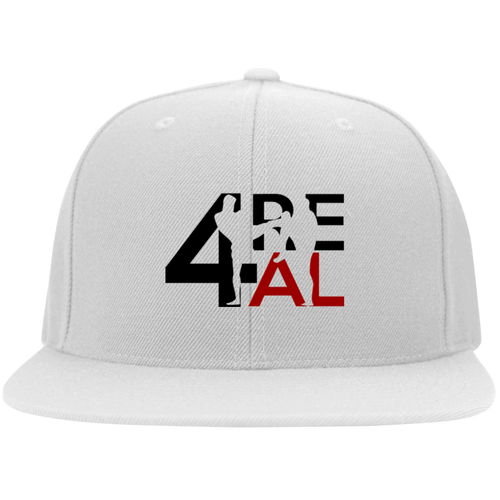 4REAL Classic White Snapback - 4REAL