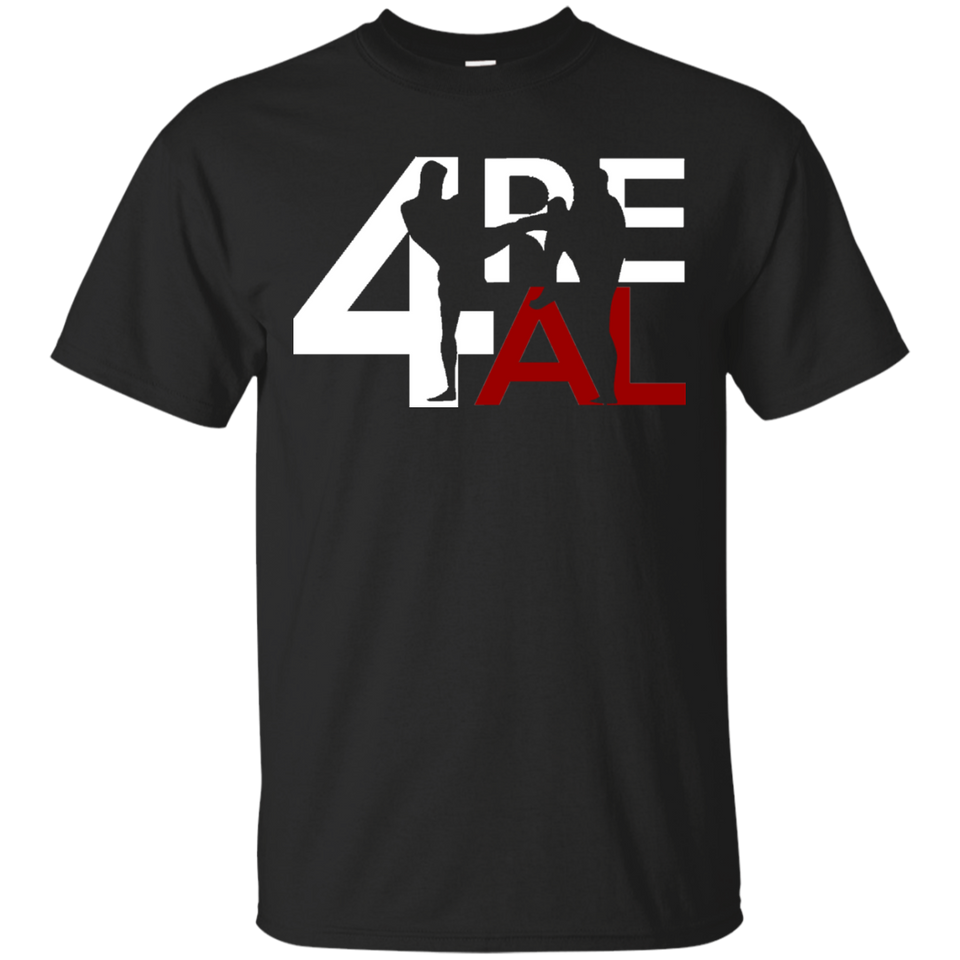 4REAL Classic Black T-Shirt - 4REAL