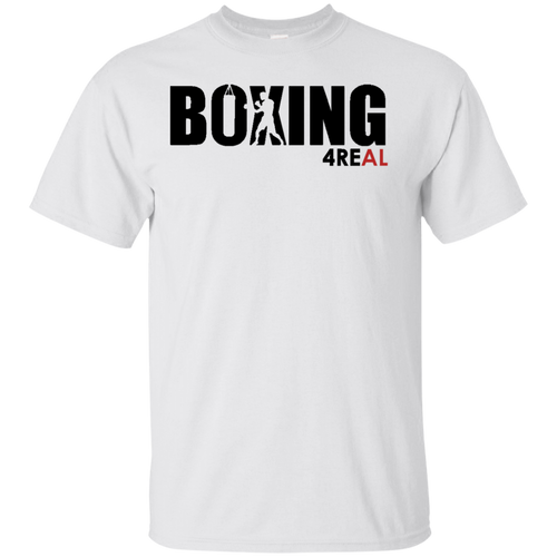 4REAL BOXING White T-Shirt - 4REAL