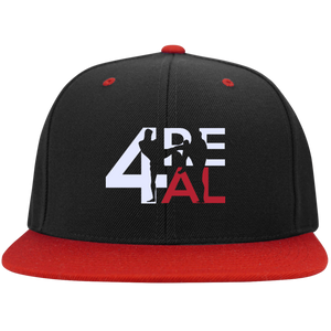 4REAL Classic Black/Red Snapback - 4REAL