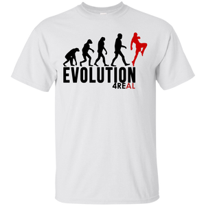 4REAL EVOLUTION White T-Shirt - 4REAL
