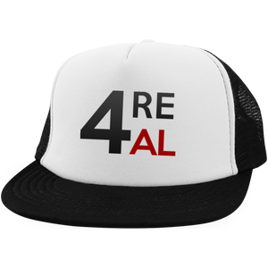 4REAL Black&White Snapback - 4REAL