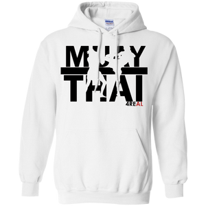 4REAL MUAY THAI White Sweatshirt - 4REAL