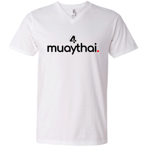 """muaythai."" 2018 V-Neck T-Shirt"